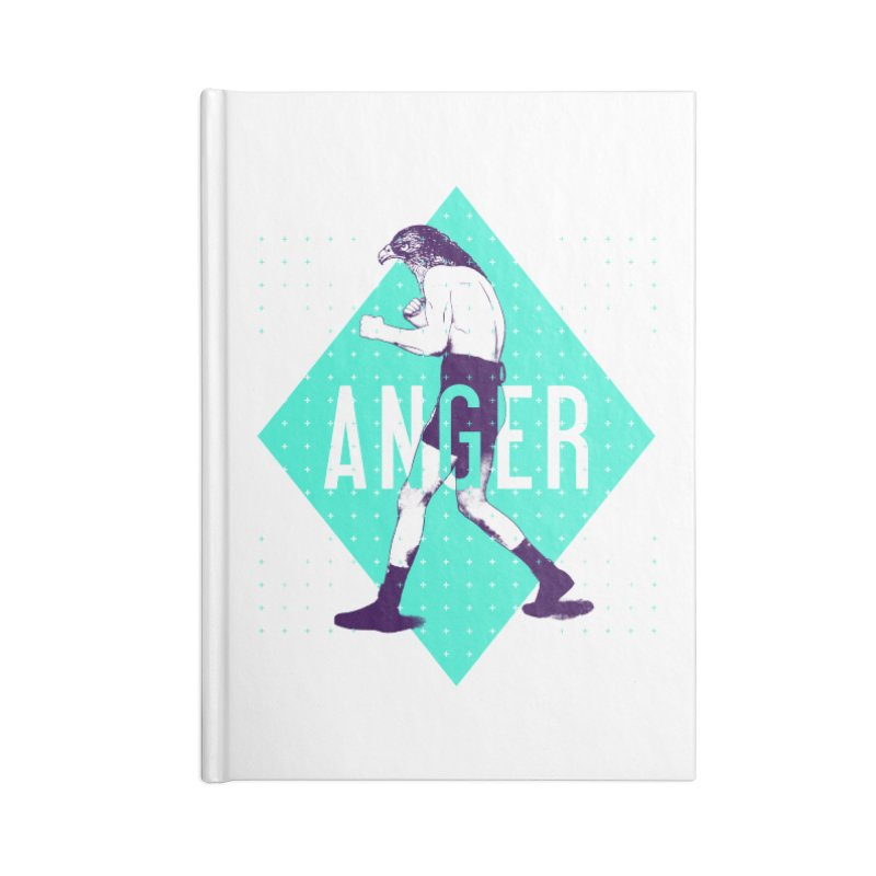 Anger Accessories Notebook by Victor Calahan