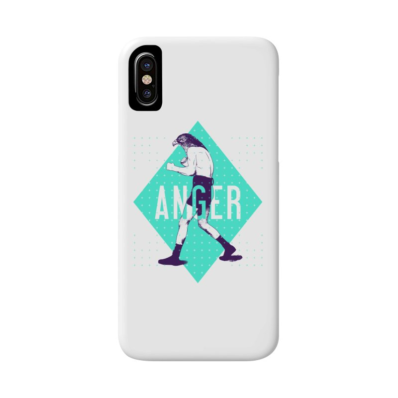 Anger Accessories Phone Case by Victor Calahan