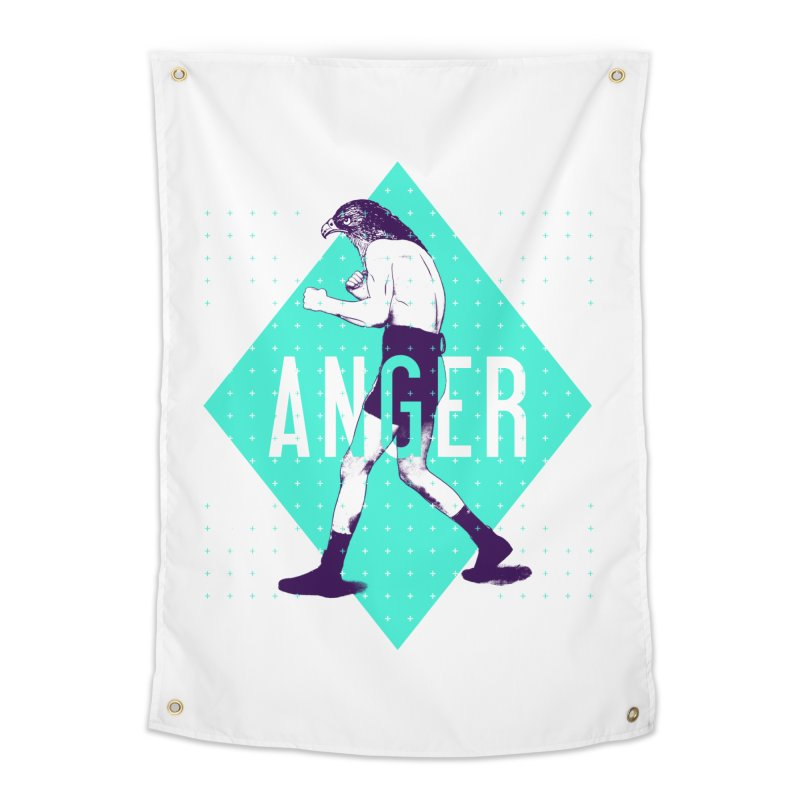Anger Home Tapestry by Victor Calahan