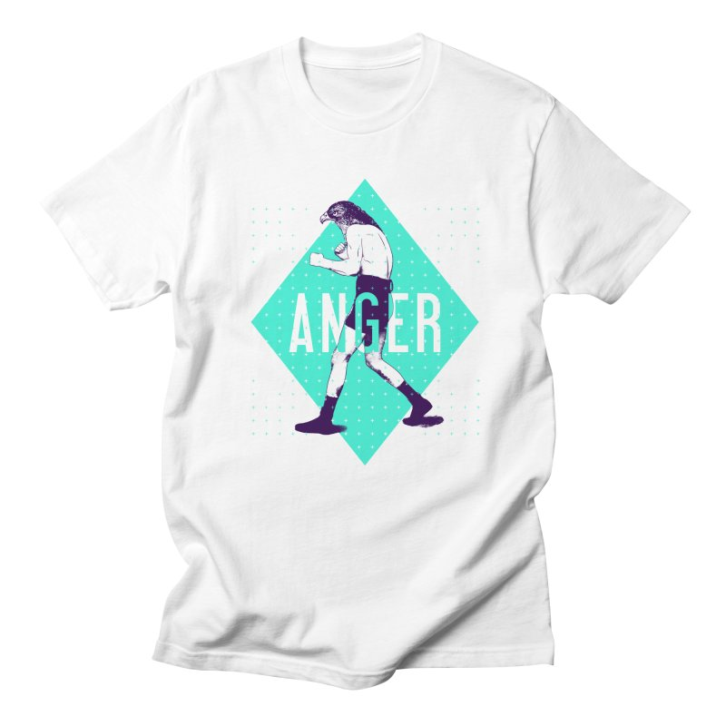 Anger Men's T-Shirt by Victor Calahan