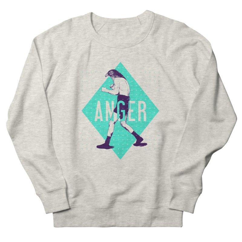 Anger Women's Sweatshirt by Victor Calahan