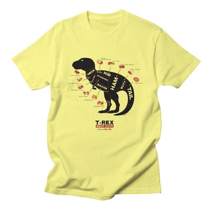 Dino Deli Men's T-shirt by Victor Calahan