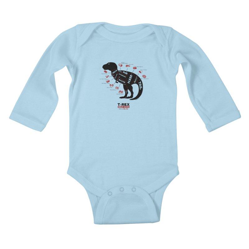 Dino Deli Kids Baby Longsleeve Bodysuit by Victor Calahan