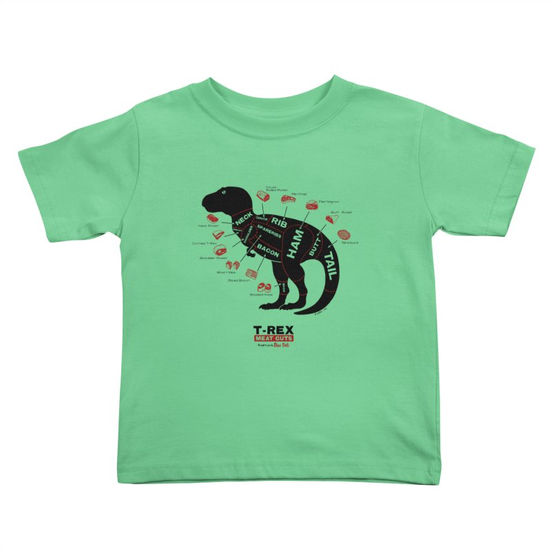 Dino Deli Kids Toddler T-Shirt by Victor Calahan