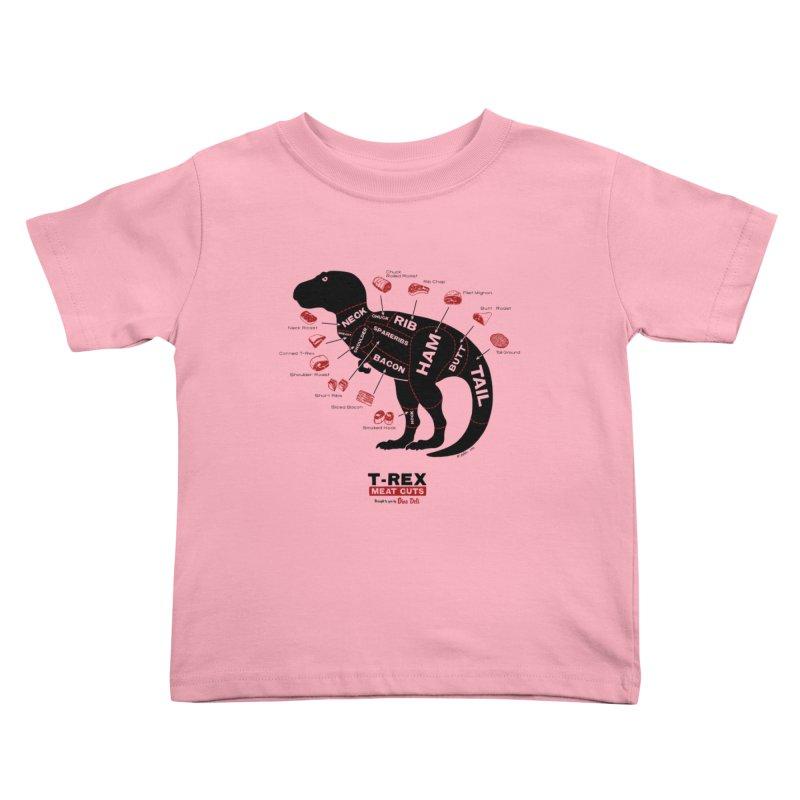 Dino Deli Kids Toddler T-Shirt by Victor Calahan