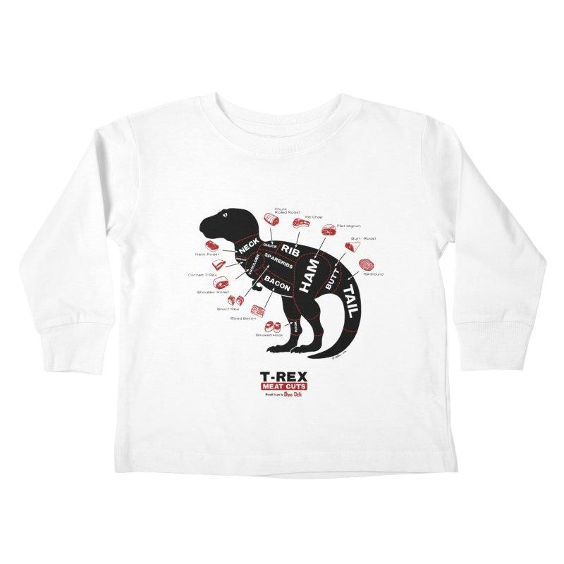 Dino Deli Kids Toddler Longsleeve T-Shirt by Victor Calahan