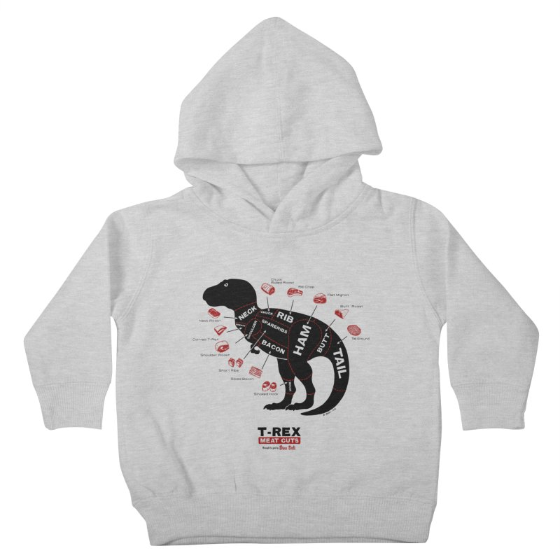 Dino Deli Kids Toddler Pullover Hoody by Victor Calahan
