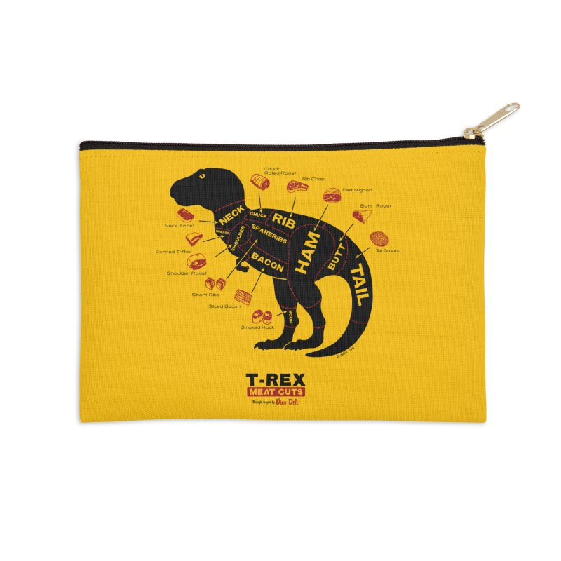 Dino Deli Accessories Zip Pouch by Victor Calahan