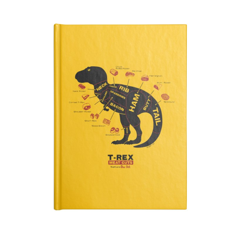 Dino Deli Accessories Notebook by Victor Calahan