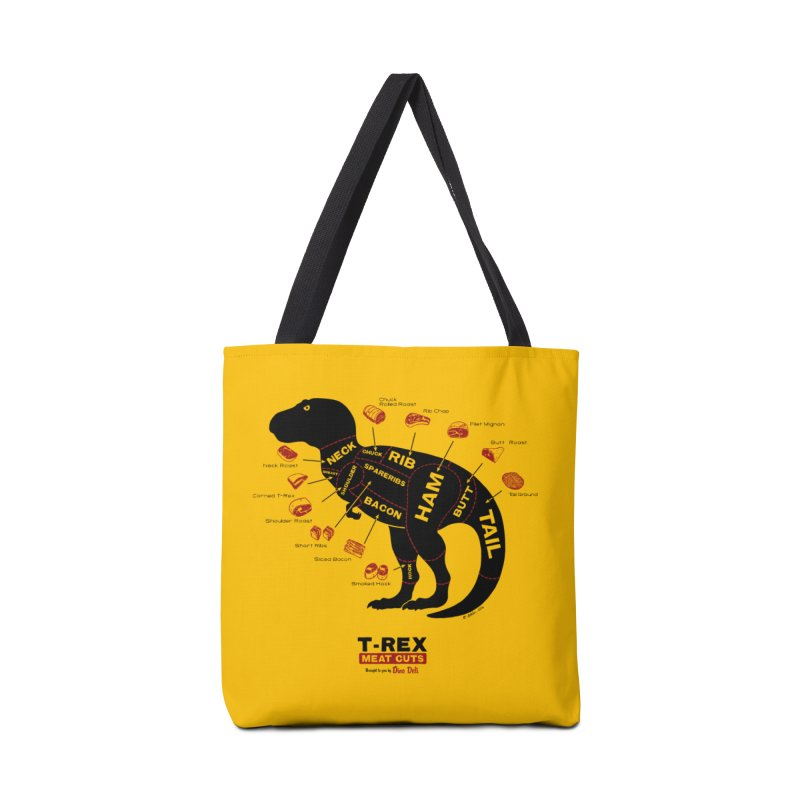 Dino Deli Accessories Bag by Victor Calahan