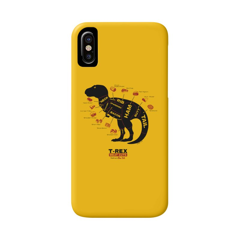 Dino Deli Accessories Phone Case by Victor Calahan