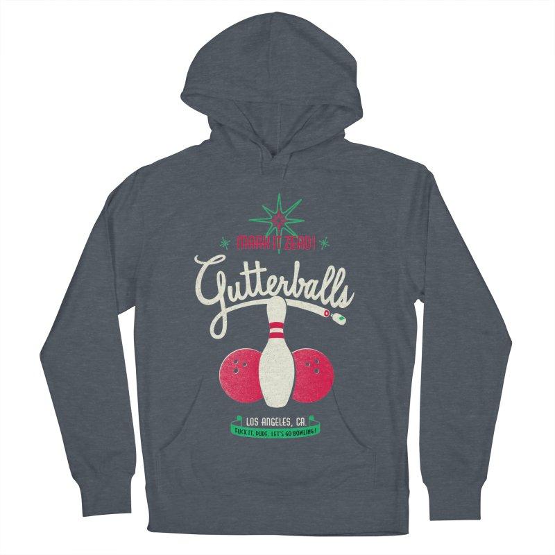 Gutterballs Women's Pullover Hoody by Victor Calahan