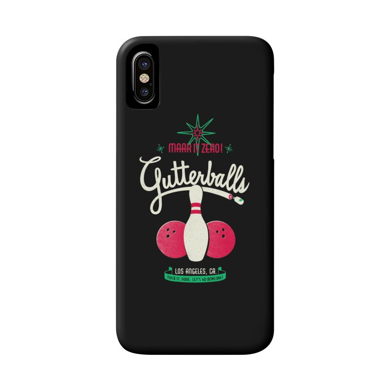 Gutterballs Accessories Phone Case by Victor Calahan