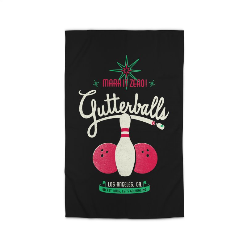 Gutterballs Home Rug by Victor Calahan