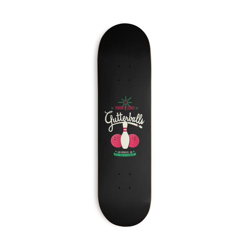 Gutterballs Accessories Skateboard by Victor Calahan