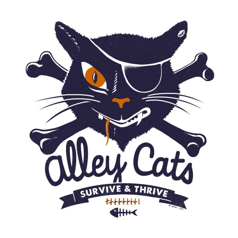 Alley Cats by Victor Calahan