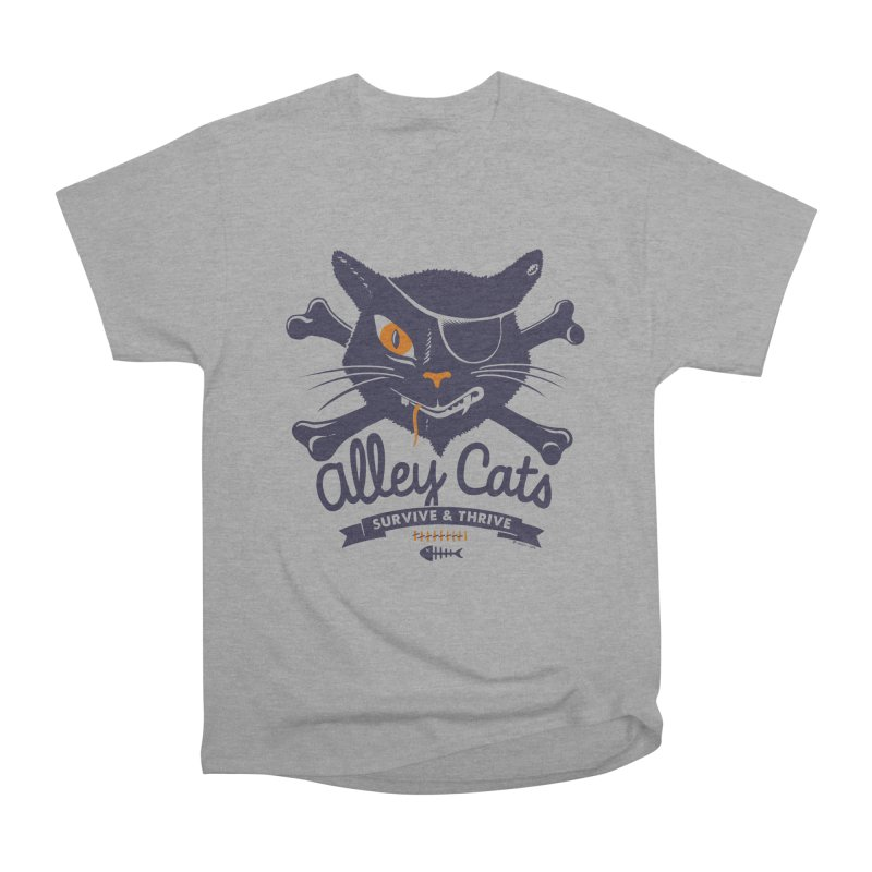 Alley Cats Women's Classic Unisex T-Shirt by Victor Calahan