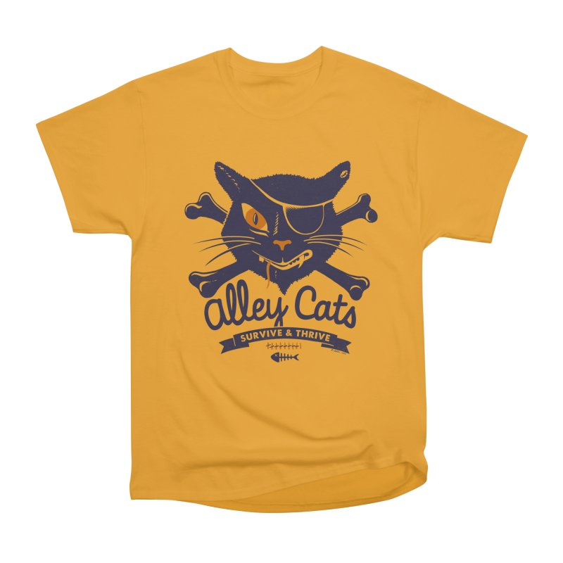 Alley Cats Men's Classic T-Shirt by Victor Calahan