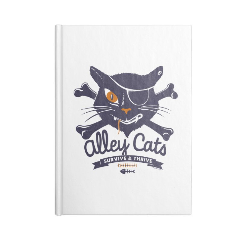Alley Cats Accessories Notebook by Victor Calahan