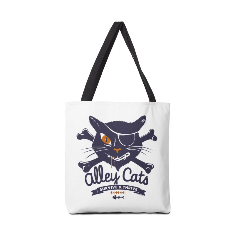 Alley Cats Accessories Bag by Victor Calahan