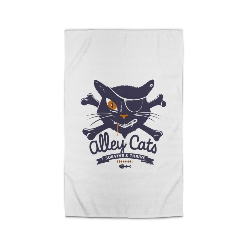 Alley Cats Home Rug by Victor Calahan