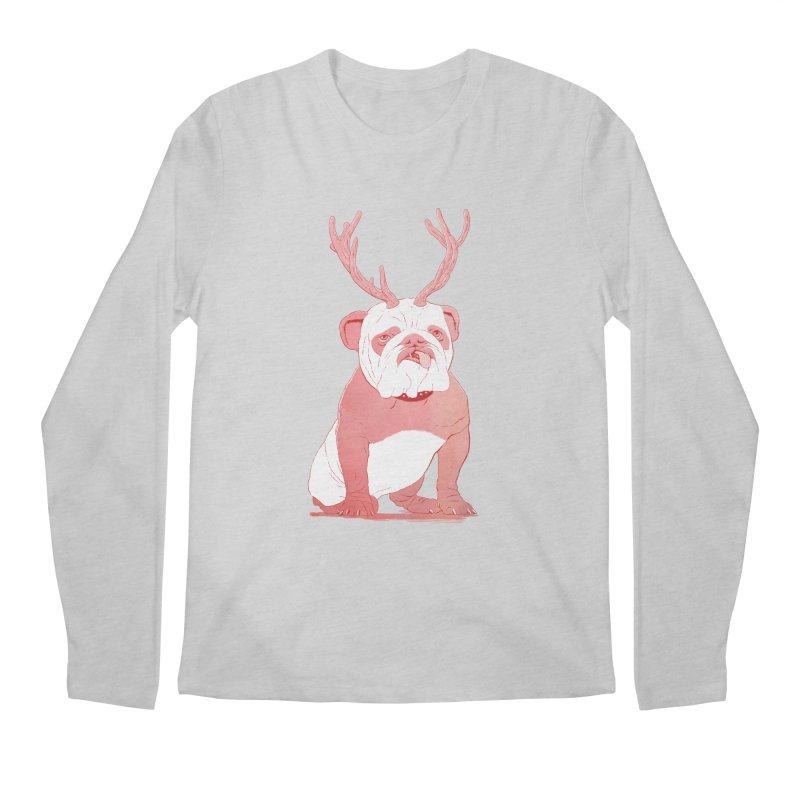 Bull 2.0 Men's Longsleeve T-Shirt by Victor Calahan