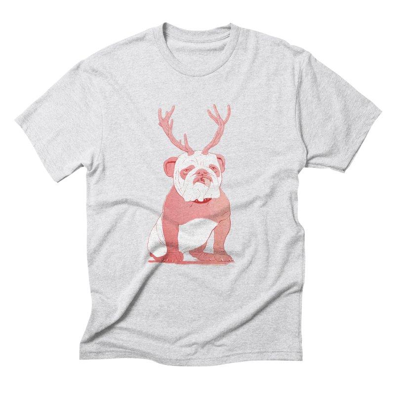 Bull 2.0 Men's Triblend T-Shirt by Victor Calahan
