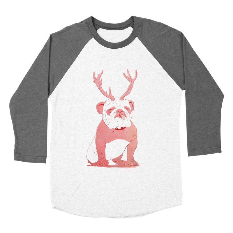 Bull 2.0 Men's Baseball Triblend T-Shirt by Victor Calahan
