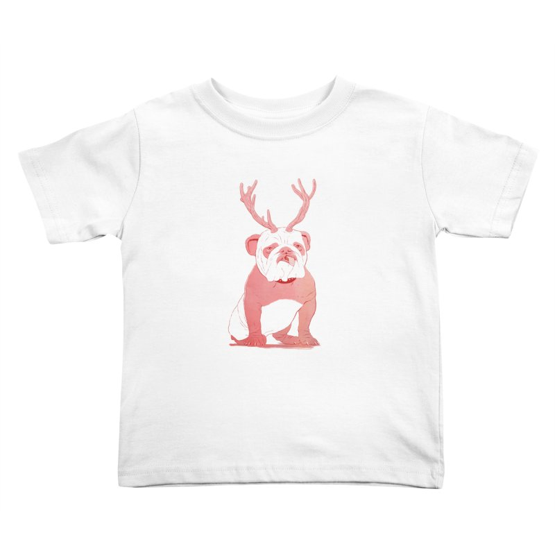Bull 2.0 Kids Toddler T-Shirt by Victor Calahan