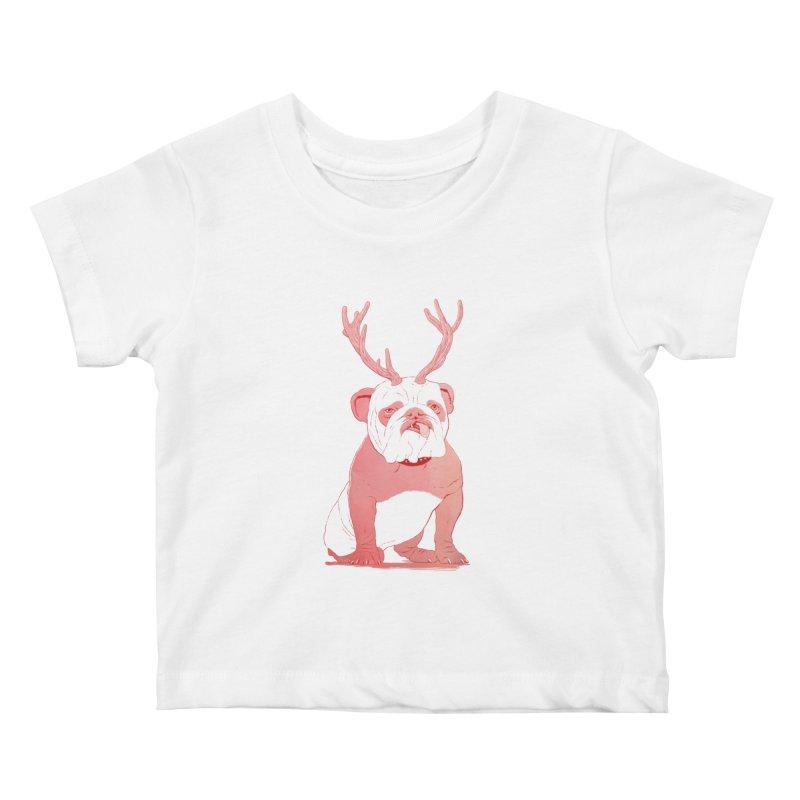 Bull 2.0 Kids Baby T-Shirt by Victor Calahan