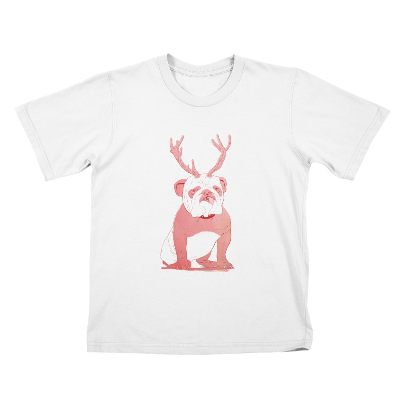 Bull 2.0 Kids T-shirt by Victor Calahan