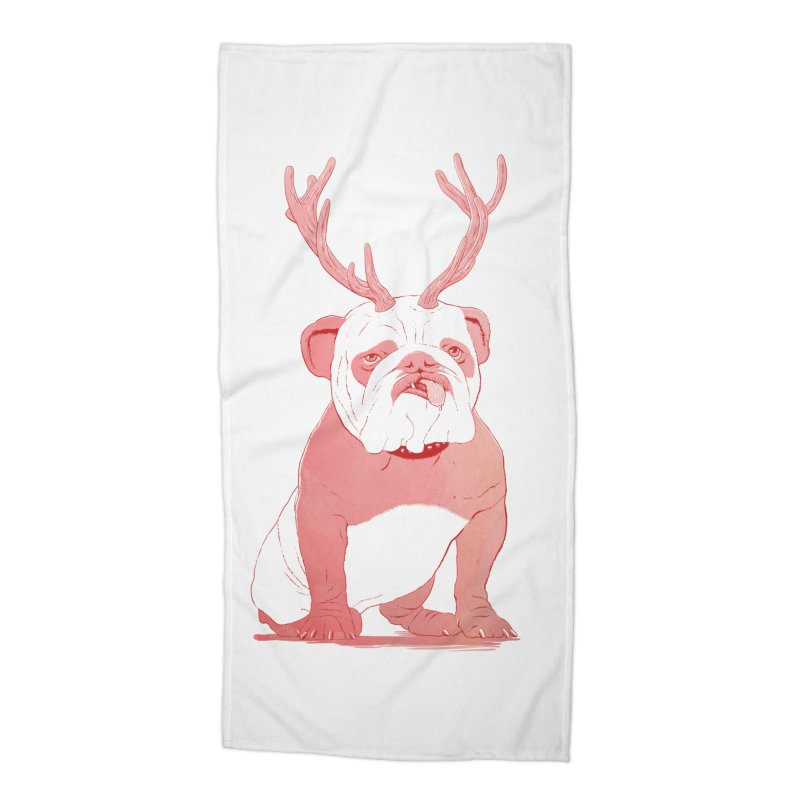 Bull 2.0 Accessories Beach Towel by Victor Calahan
