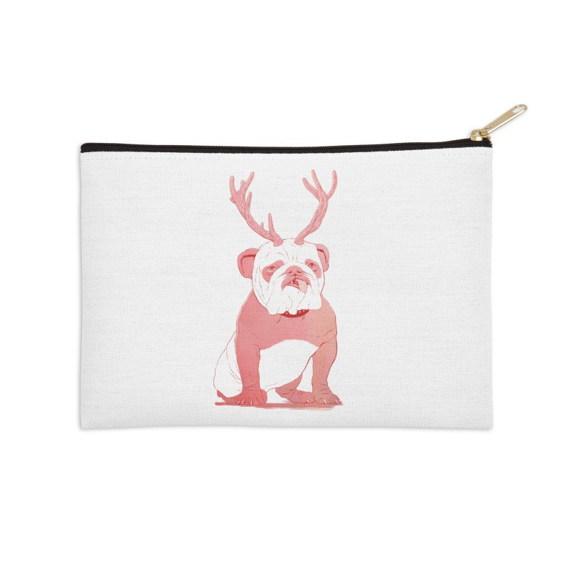 Bull 2.0 Accessories Zip Pouch by Victor Calahan