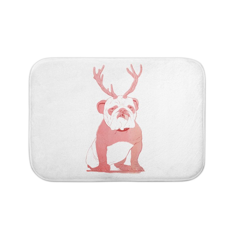 Bull 2.0 Home Bath Mat by Victor Calahan