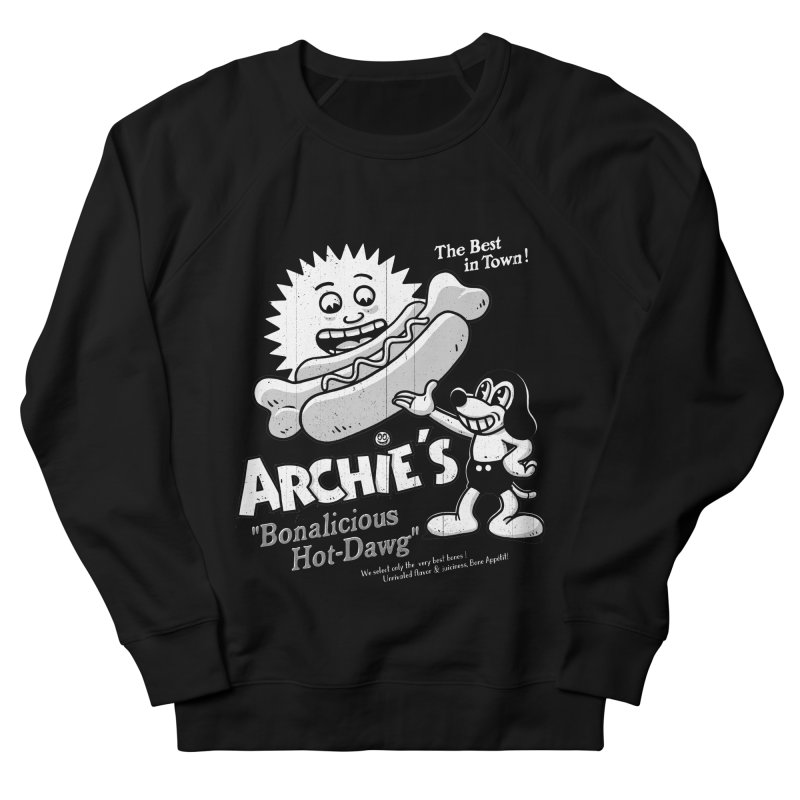 Archie's Men's Sweatshirt by Victor Calahan