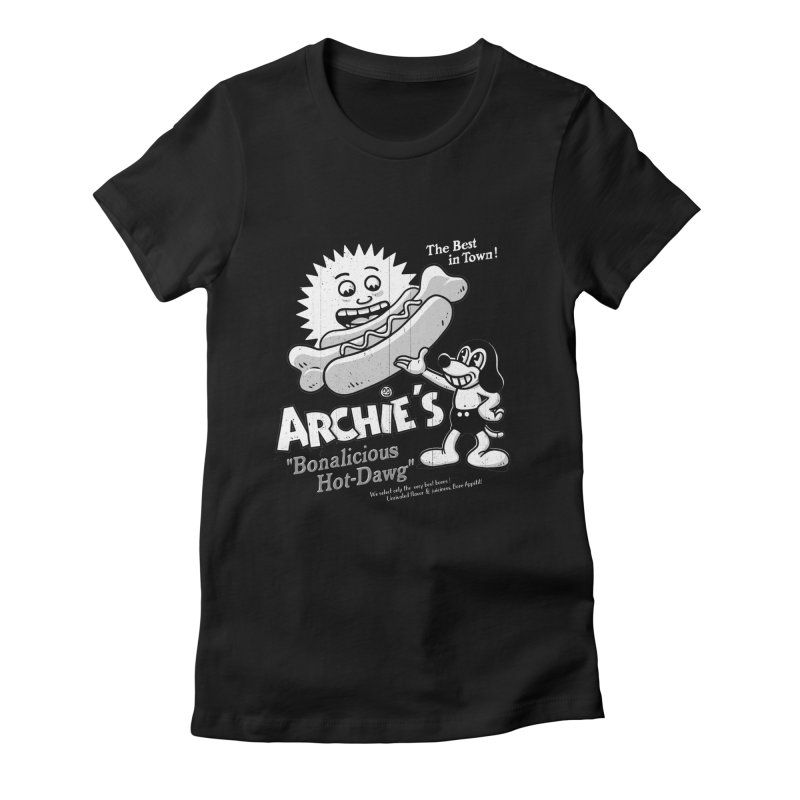 Archie's Women's Fitted T-Shirt by Victor Calahan