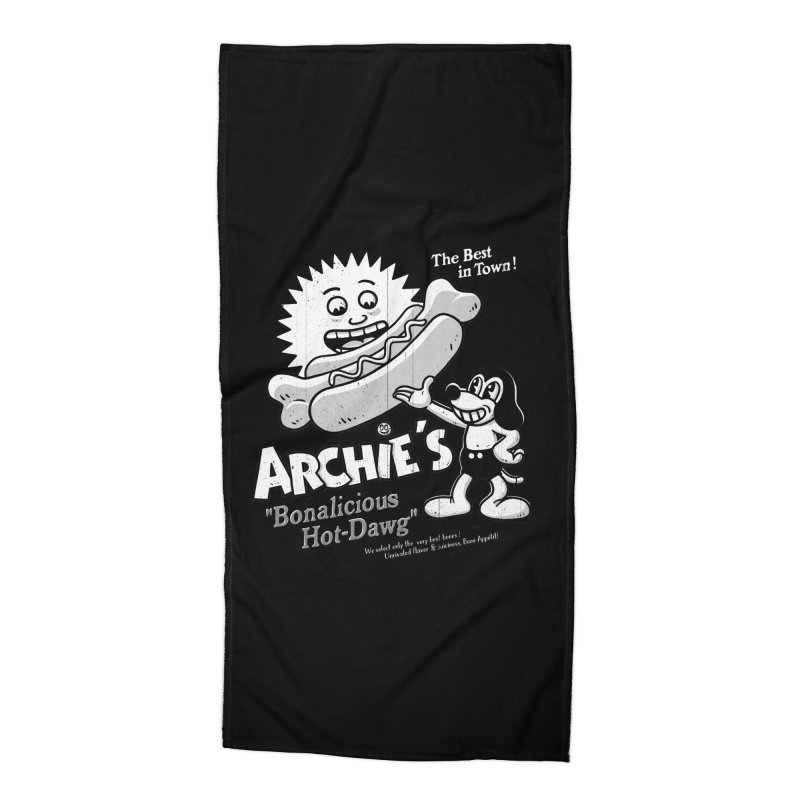 Archie's Accessories Beach Towel by Victor Calahan