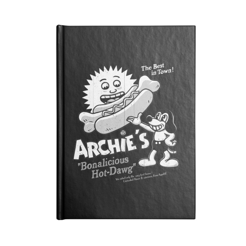 Archie's Accessories Notebook by Victor Calahan