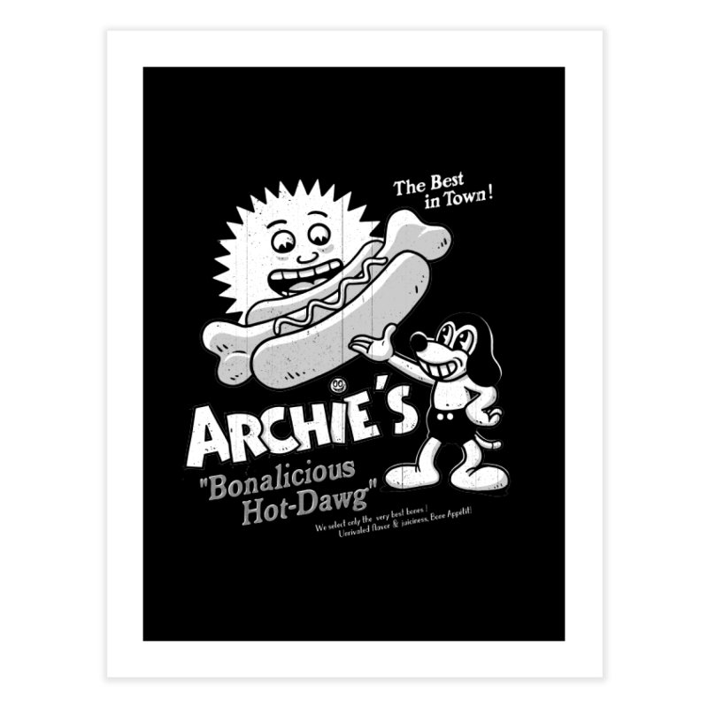 Archie's Home Fine Art Print by Victor Calahan