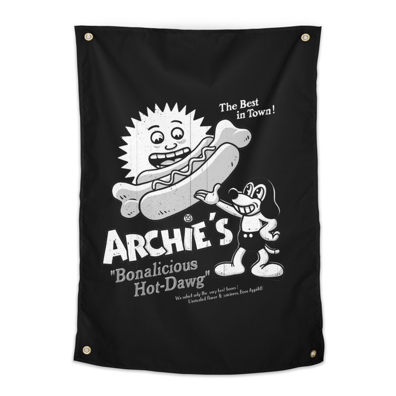 Archie's Home Tapestry by Victor Calahan