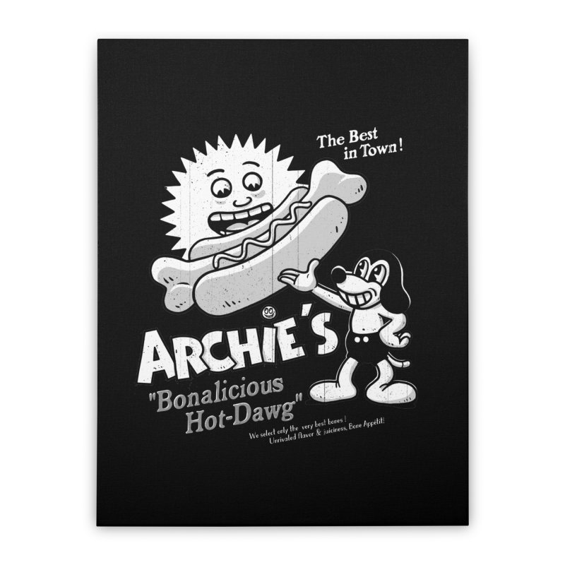 Archie's Home Stretched Canvas by Victor Calahan