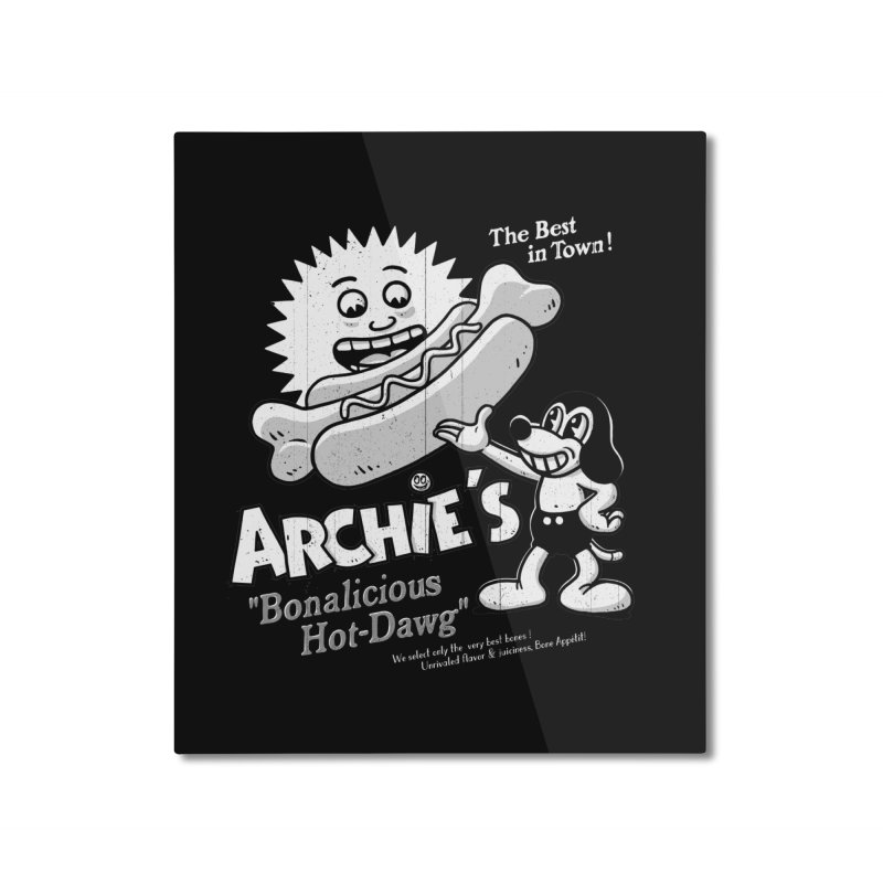 Archie's Home Mounted Aluminum Print by Victor Calahan