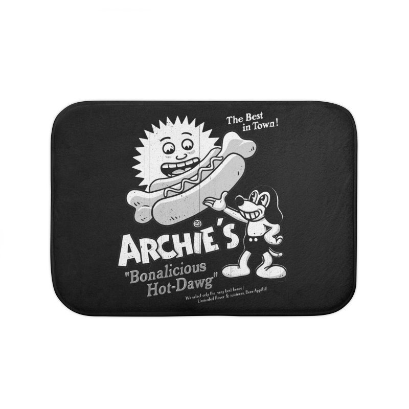 Archie's Home Bath Mat by Victor Calahan