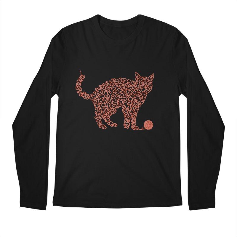 Intricat Men's Longsleeve T-Shirt by Victor Calahan