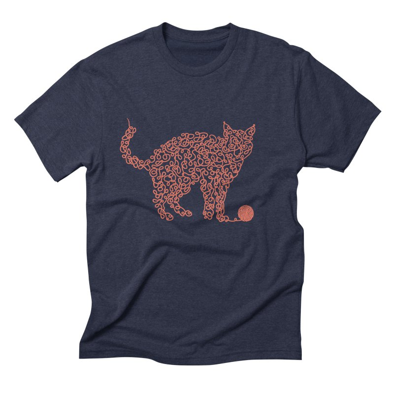 Intricat Men's Triblend T-Shirt by Victor Calahan