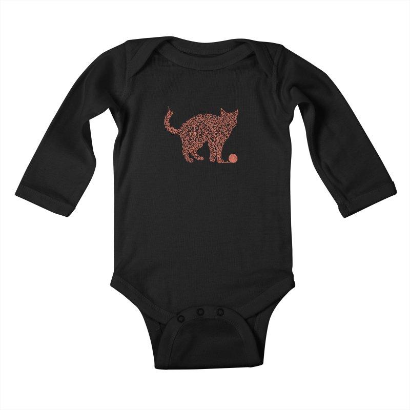 Intricat Kids Baby Longsleeve Bodysuit by Victor Calahan