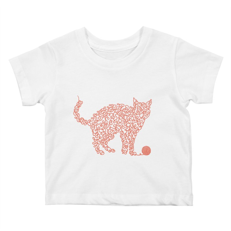 Intricat Kids Baby T-Shirt by Victor Calahan