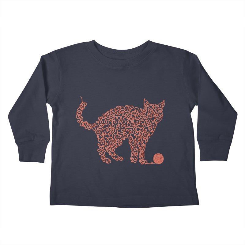 Intricat Kids Toddler Longsleeve T-Shirt by Victor Calahan