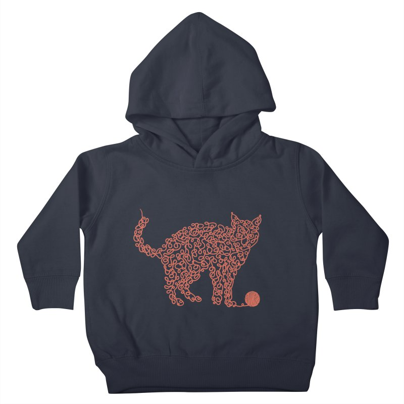 Intricat Kids Toddler Pullover Hoody by Victor Calahan