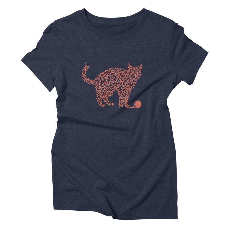 Intricat Women's Triblend T-shirt by Victor Calahan